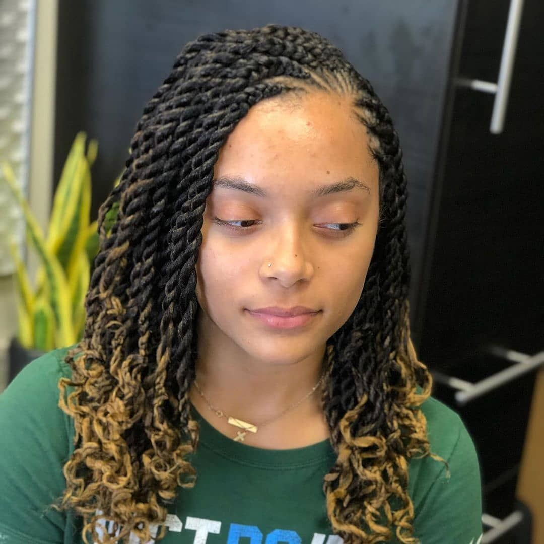 Best African Braided Hairstyles Need Braids Styles Different From Your Usual Hairstyles Look No Twist Braid Hairstyles Natural Hair Braids Braided Hairstyles