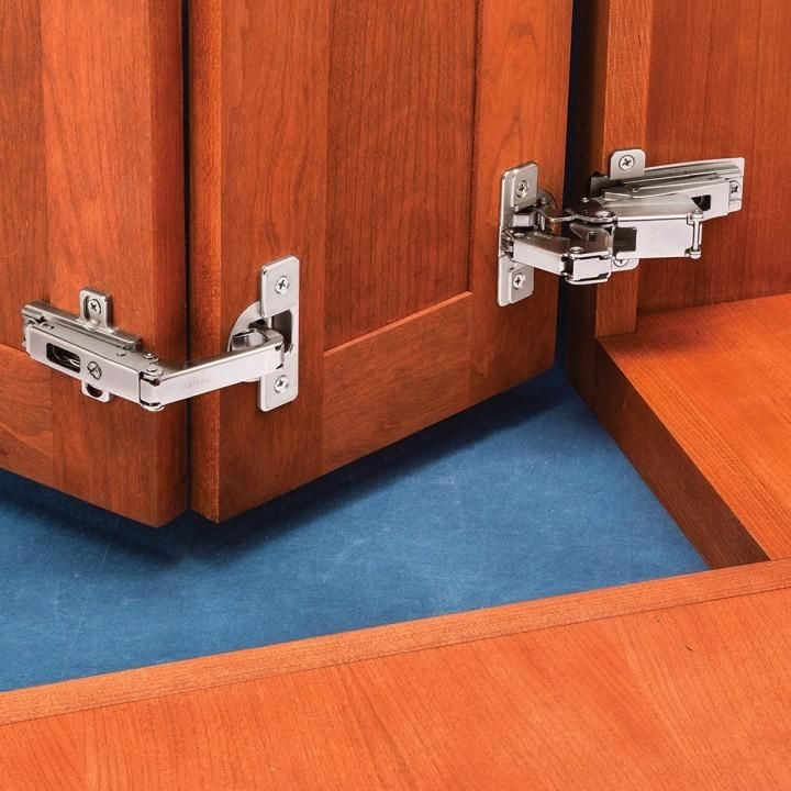 Salice Face Frame Self Closing Pie Corner Cabinet Hinge Kit For Lazy Susan