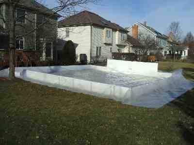 Awesome Backyard · My Backyard Ice Rink Liner
