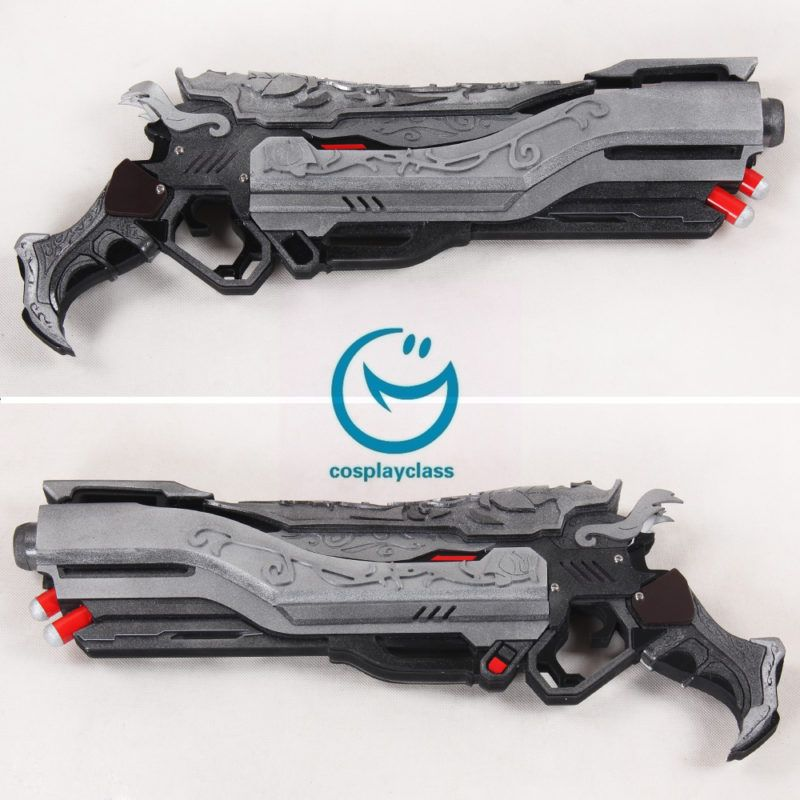 Overwatch Ow Reaper Gabriel Reyes Mariachi Two Guns Cosplay Weapon