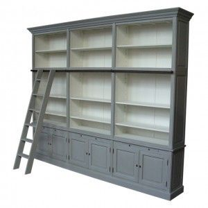 Royal Oak Library Bookcase With Ladder Find Home Furnishings Brooklyn Ny 500