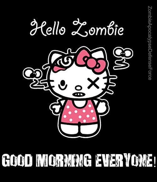 Good Morning Hello Kitty T Shirt Kitty Hello Kitty