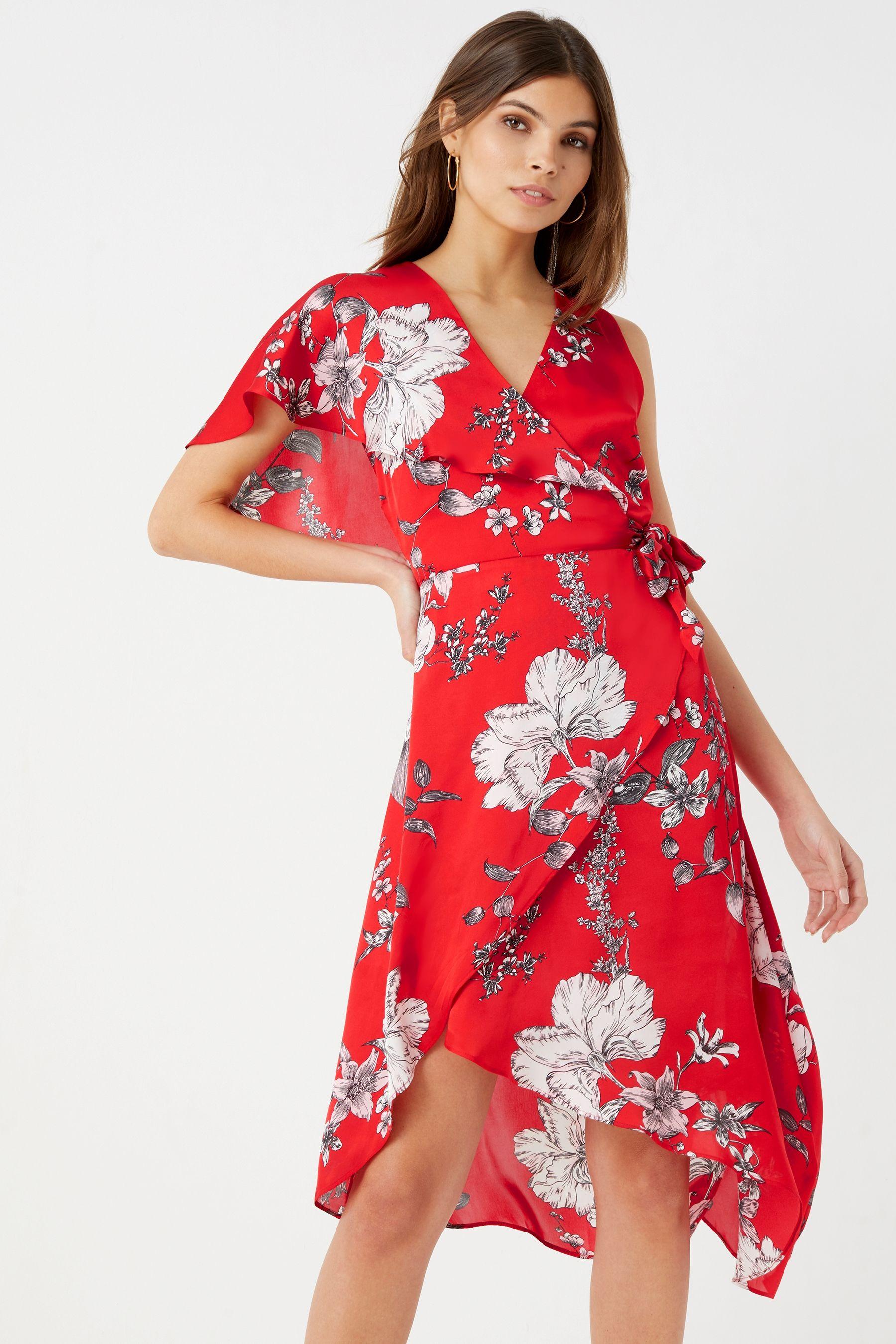 67920fc0d5 Lipsy Floral Print Burnout Maxi Dress Uk