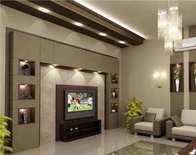 Best Drywall Gypsum Wall Design Ideas For Tv In Living Rooms Tv Wall Design Living Room Modern Tv Room Design