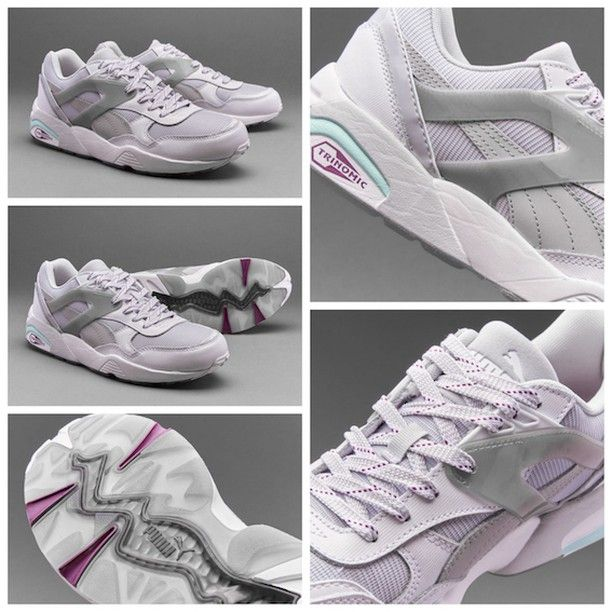 the best attitude 30f55 5ec87 Puma Womens R698 Basic Sport Tech - White   Grey قیمت  تومان کد محصول