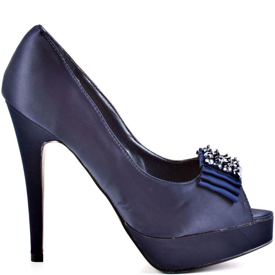 c89ee8412d685 Carrigan heels Navy brand heels JustFab