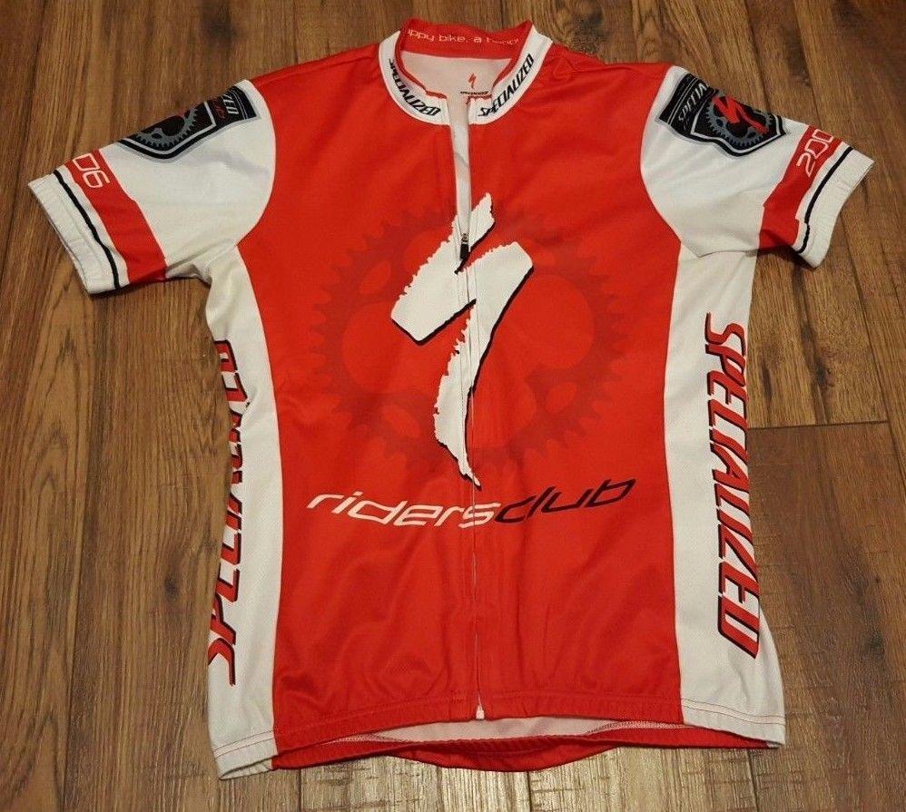 Men/'s Club Cycling Jersey Red /& Black