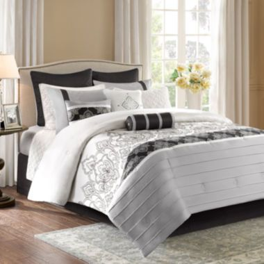 p\u003eTie the look of your room together with this black, off-white and