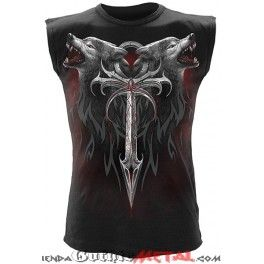 Camiseta sin mangas hombre LEGEND OF THE WOLVES