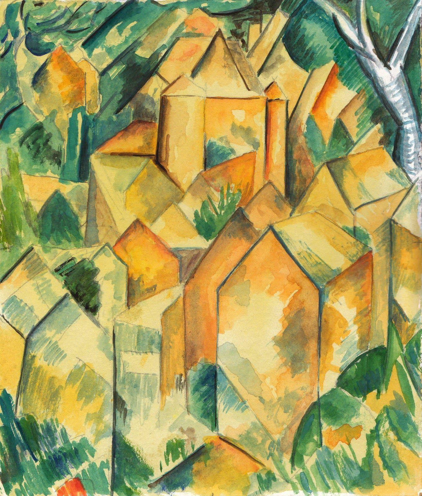 Paul Cezanne Cubism Paintings | Cezanne Cubism | Paul ...