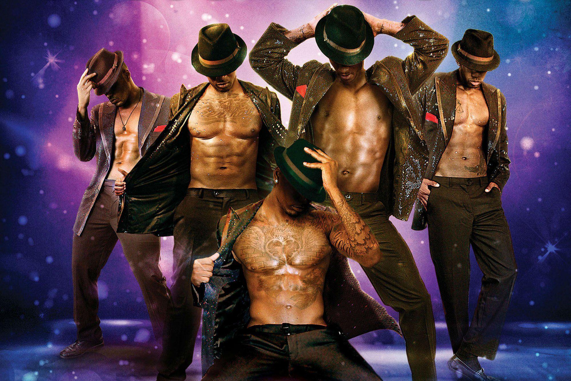Male stripper wallpaper