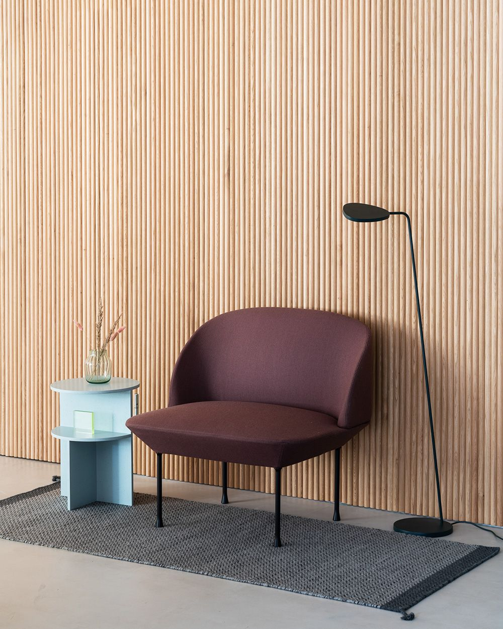 Minimal And Playful Upholstered Lounge Chair Decor Inspiration From Muuto With Re Scandinavian Furniture Design Living Room Inspiration Home Decor Inspiration
