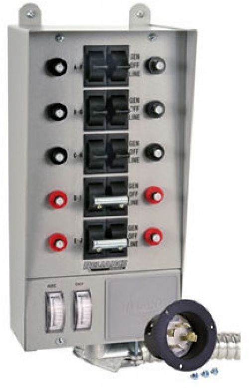 Wire Generator Transfer Switch To A Circuit Breaker Panel Diy Install