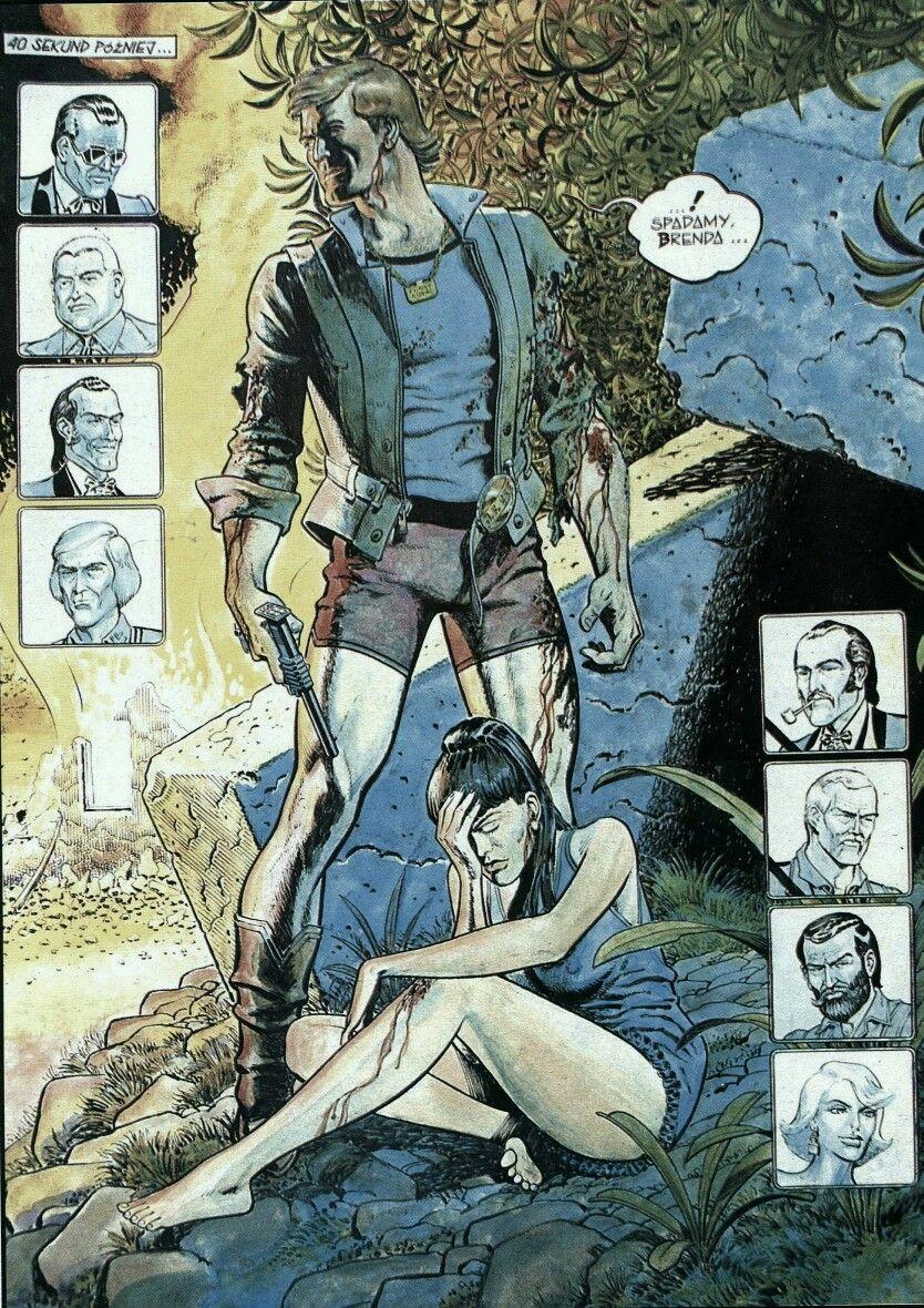 Funky Koval I Brenda Science Fiction Art Manga Pages Art