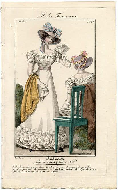 Two ladies 1823 L'Indiscret