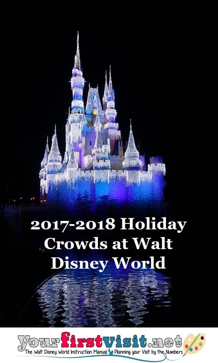 disney world crowds christmas 2017 and new years 20172018 yourfirstvisitnet