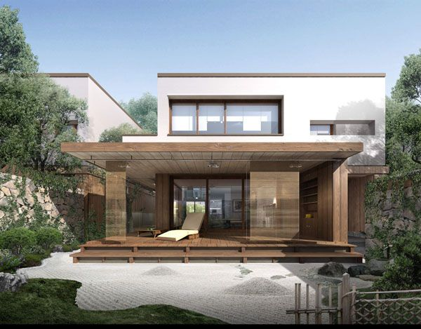 Stunning Modern Chinese Houses and Interior Ideas : Awesome Wooden ...