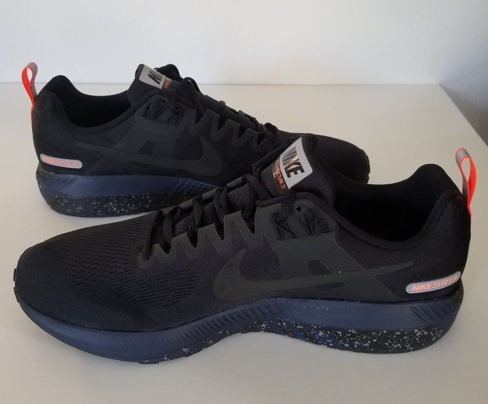 Nike Air Zoom Structure 21 Shield 907324 001 Black Obsidian Mens Sz 13 New Fashion Clothing Shoes Accessories Mensshoes Athleti Athletic Shoes Shoes Nike