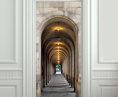 Fototapete optische täuschung  Optische Täuschung mit Fototapete für Innentüren - fresHouse ...