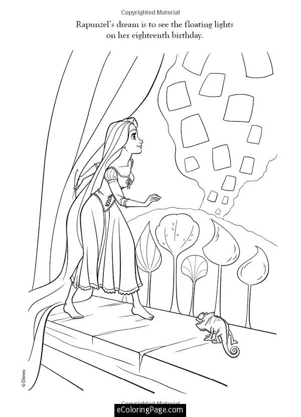 Tangled Coloring page | Elena\'s Bday | Pinterest
