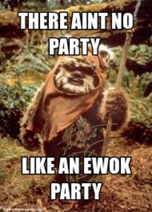 Pin By Nicky Harlond Sanders On Star Wars Star Wars Kids Ewok Star Wars Birthday