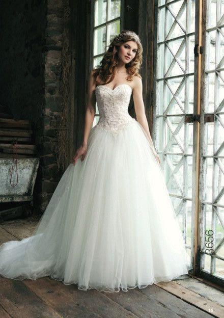 Fluffy Wedding Dress