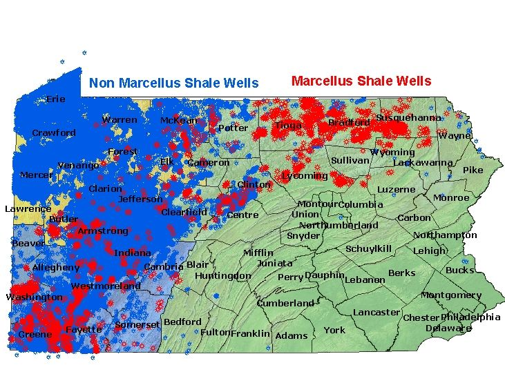 Pa Shale Marcellus Graphing Drill