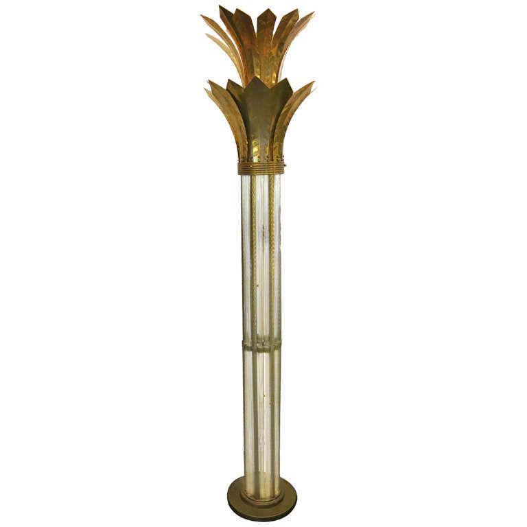 1920 Floor Lamp Shaped Like A Palm Tree   Palm Sugar   Pinterest ...