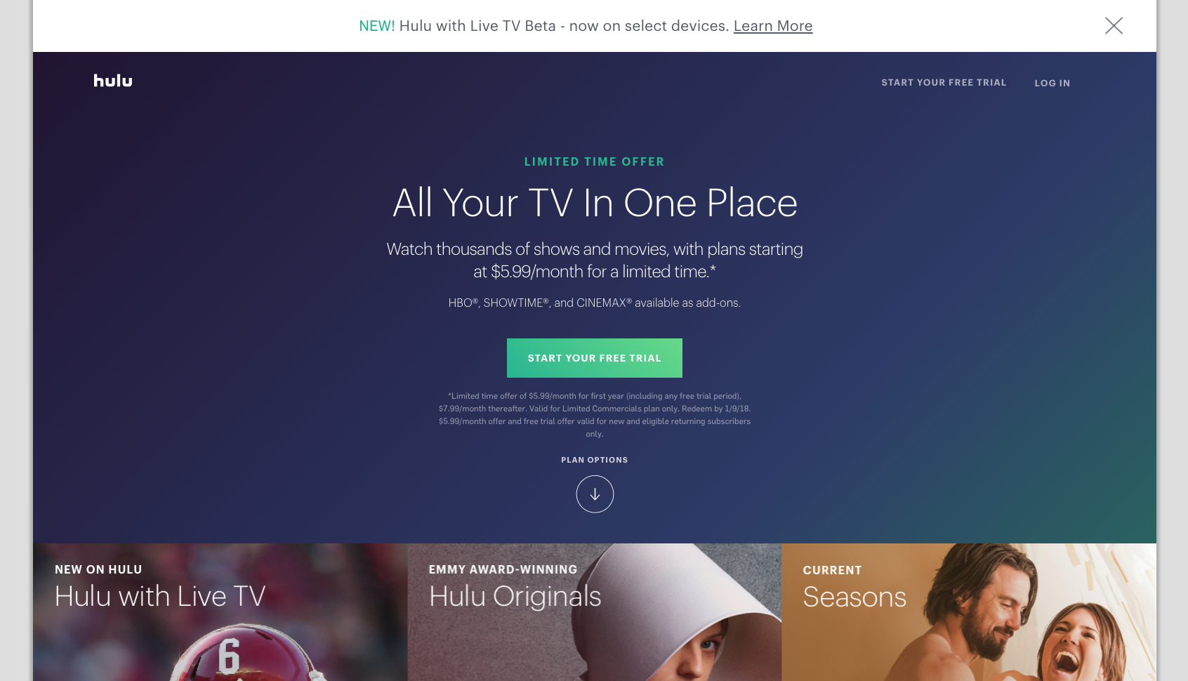 All Your Tv In One Place Streaming Tv Watch Tv Shows Live Tv