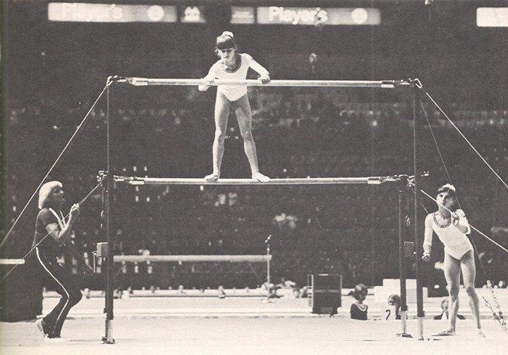 Nadia Comaneci and Teodora Ungureanu   Life Of A Gymnast