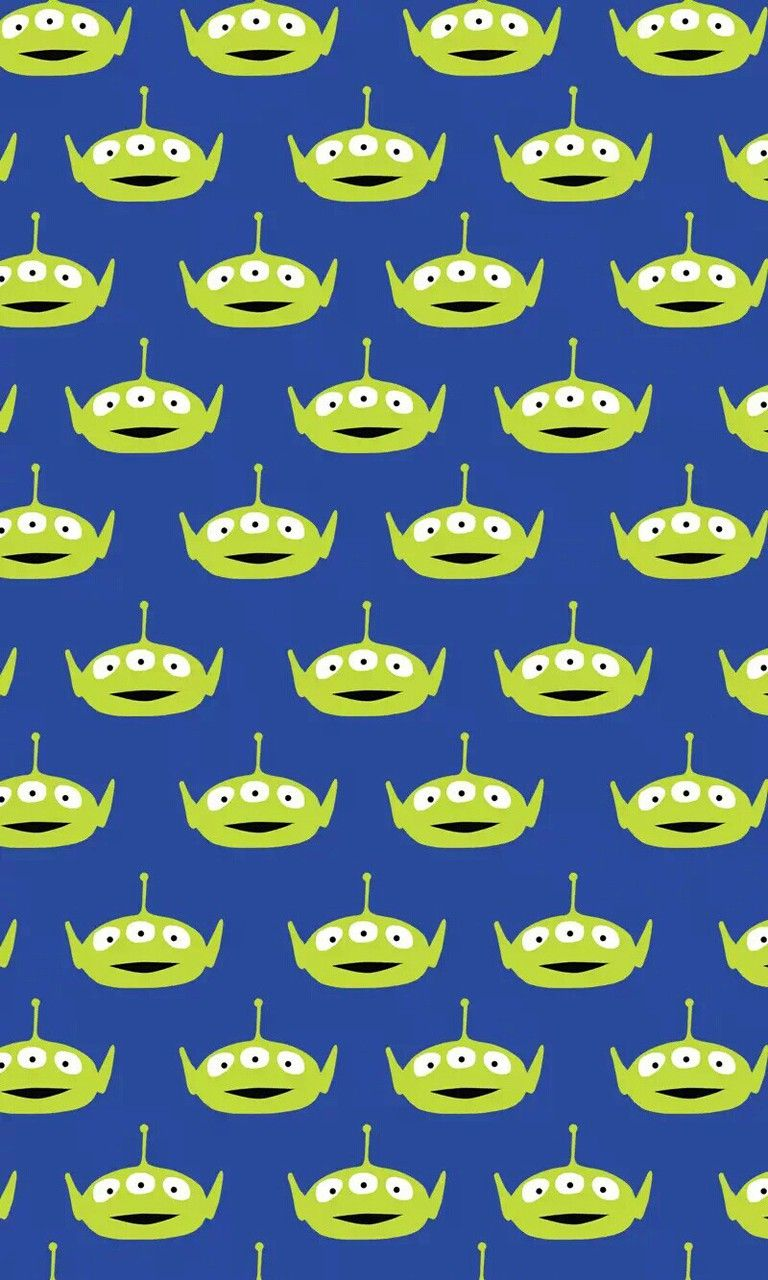 Wallpaper iphone toy story - Little Green Man