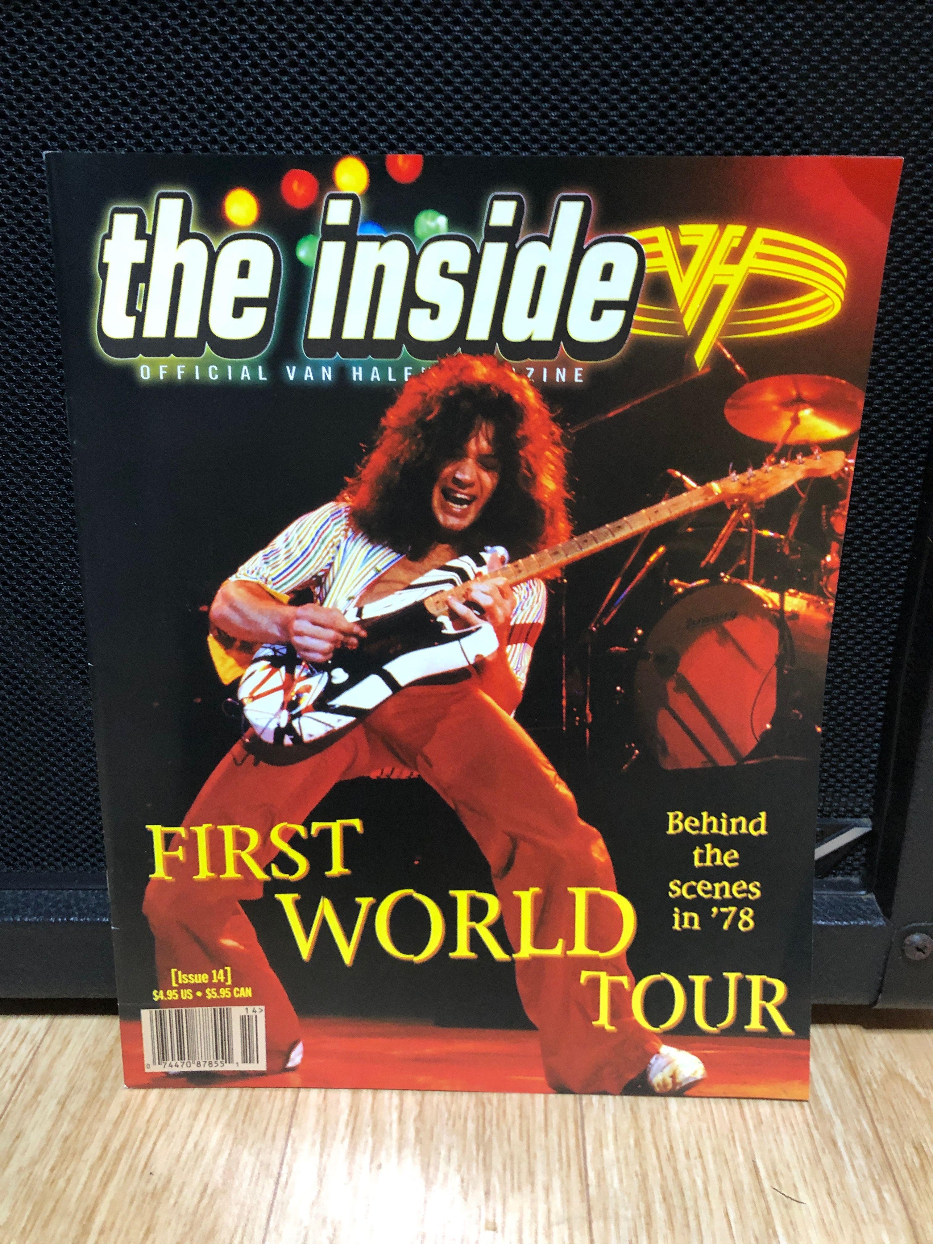 Pin Di Elaine H Su Van Halen Magazine