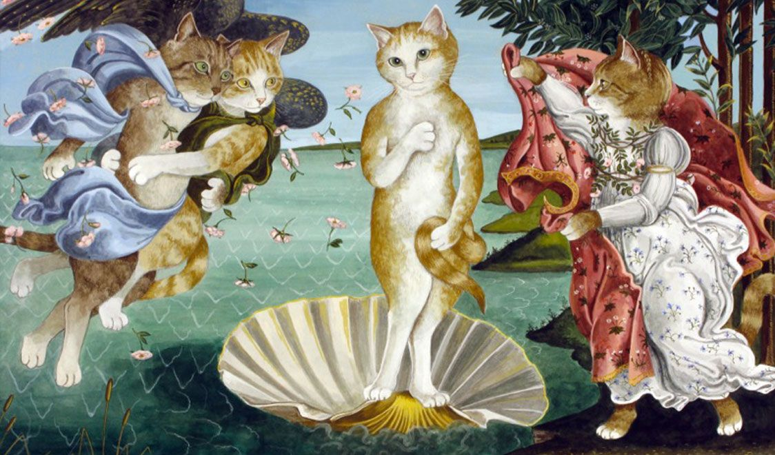 an interpretation of the painting the birth of venus The birth of venus, 1485 by sandro botticelli while there are subtleties in the painting, its main meaning is a straightforward, if individual.
