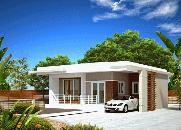 Pin By Pu Pae On Modern House Small House Design Philippines Kerala House Design Small House Design Plans