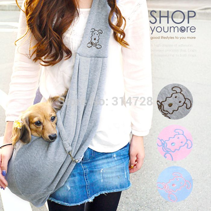 Free Shipping Adjustable Kangaroo Mama Pouch Pet Bag Travel Cozy - Hoodie with kangaroo pouch is the perfect cat accessory