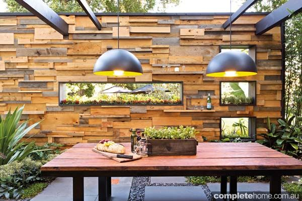 This Beautiful Outdoor Room Would Be The Perfect Place To Entertain And Wow Your Guests Is Part Of Award Winning Cube2 Garden Design