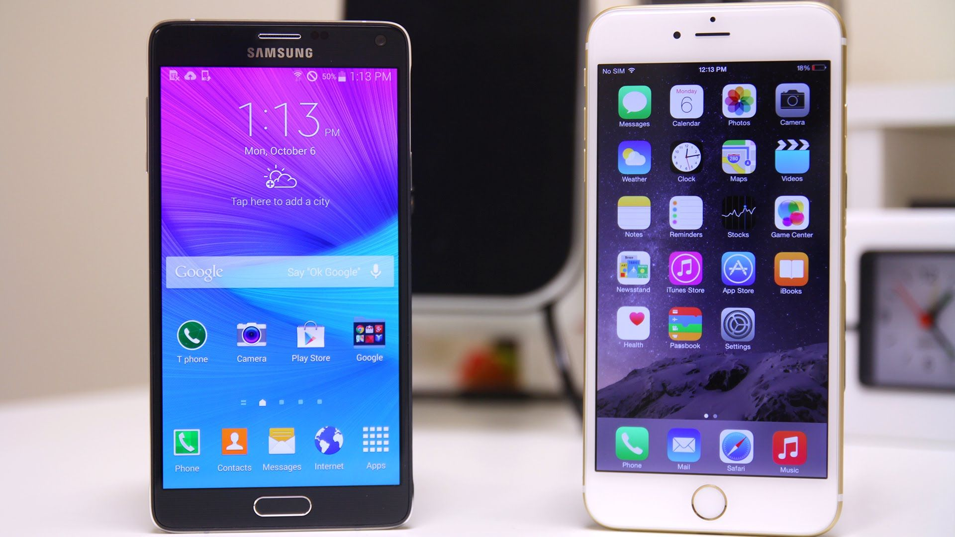 Samsung Galaxy Note 4 Vs Iphone 6 Plus Full Comparison Iphone Samsung Galaxy Note 5