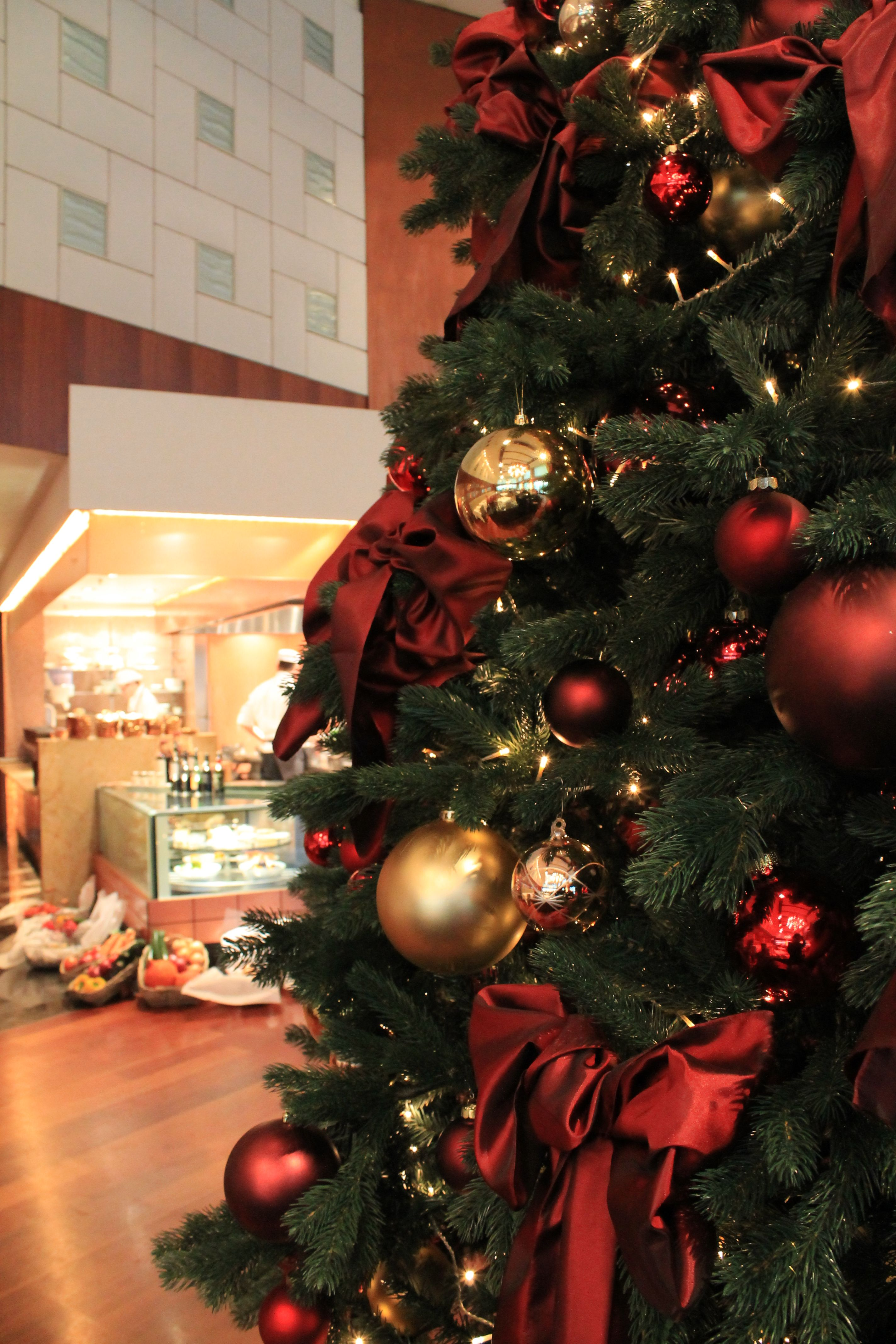 Christmas Decoration At Park Hyatt Zurich Christmas Decorations Christmas Holiday Decor