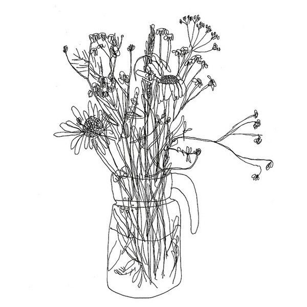 Loads And Loads Of Tiny Flower Drawing Tumblr Drawing Illustrations Flower Drawing