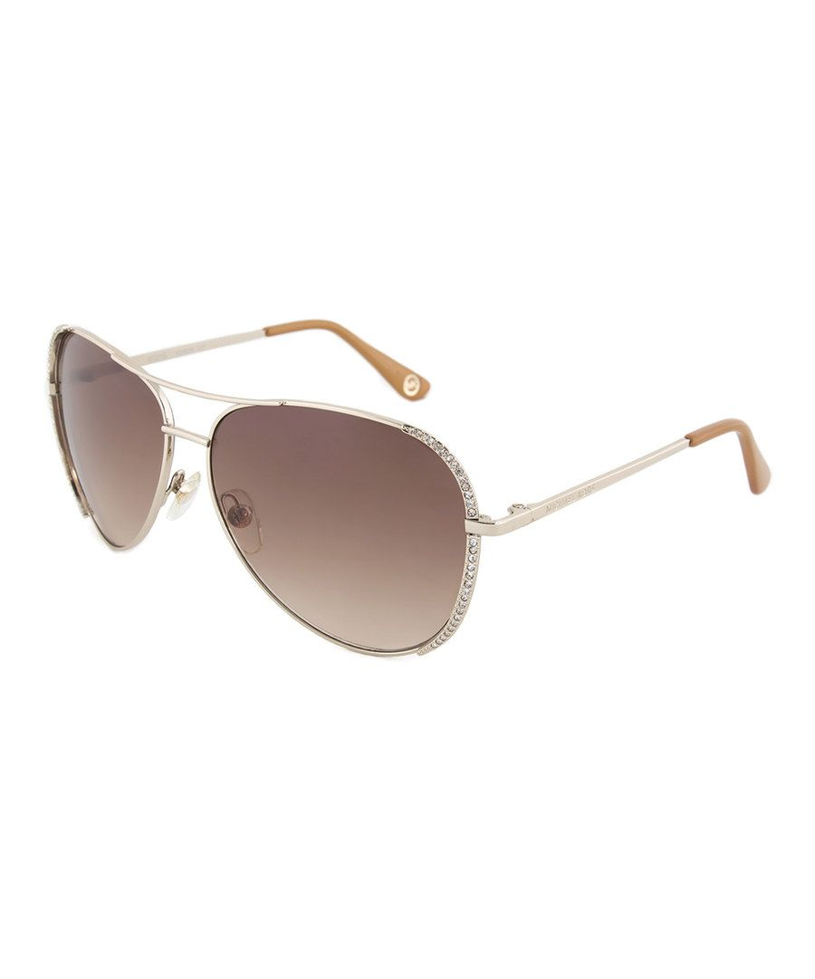 fae532b5ce3 Look at this Michael Kors Gold Sadie Sunglasses on  zulily today ...