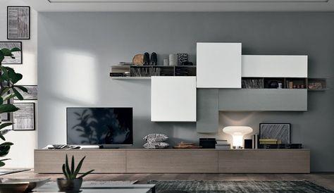 Collection meuble tomasella design italien salon for Arredo tv design