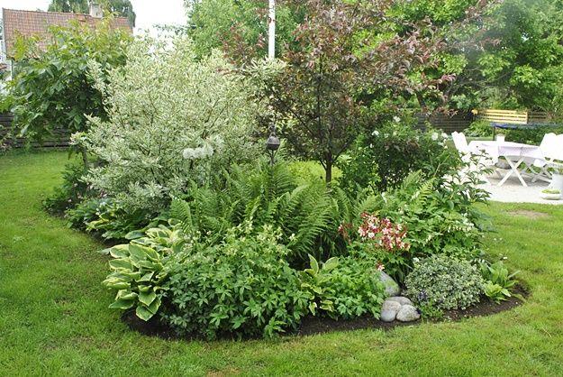 att anlägga en rabatt plantering runt en uteplats - Sök på Google ...
