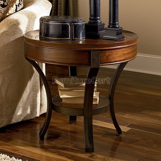 Sunset Valley Round End Table End Tables Side Table Furniture