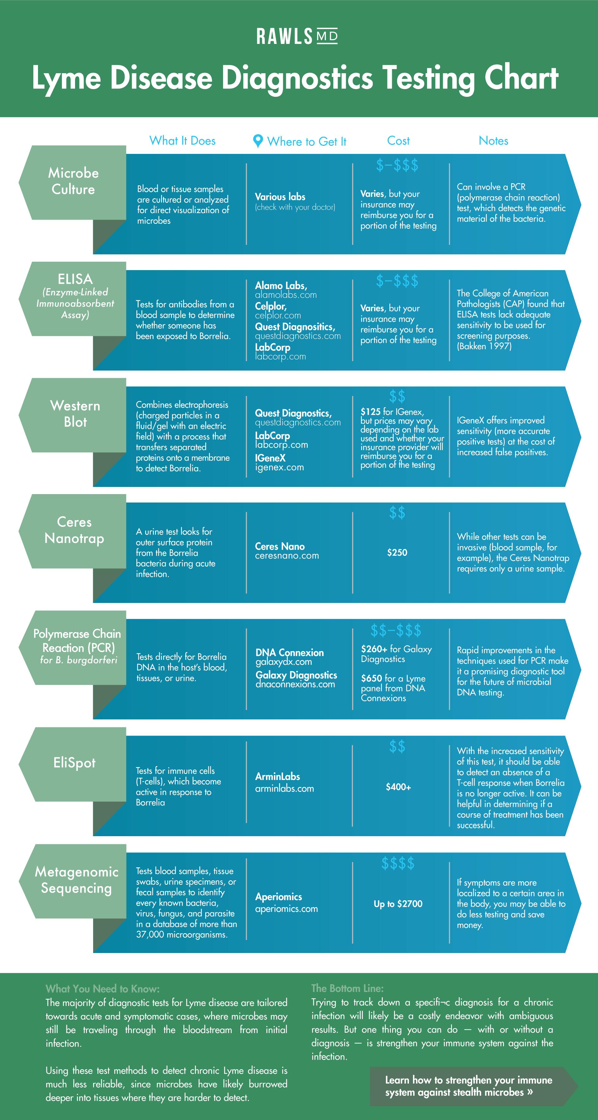 Lyme Disease Tests | Dr  Rawls' Complete Lyme Testing Guide | Lyme