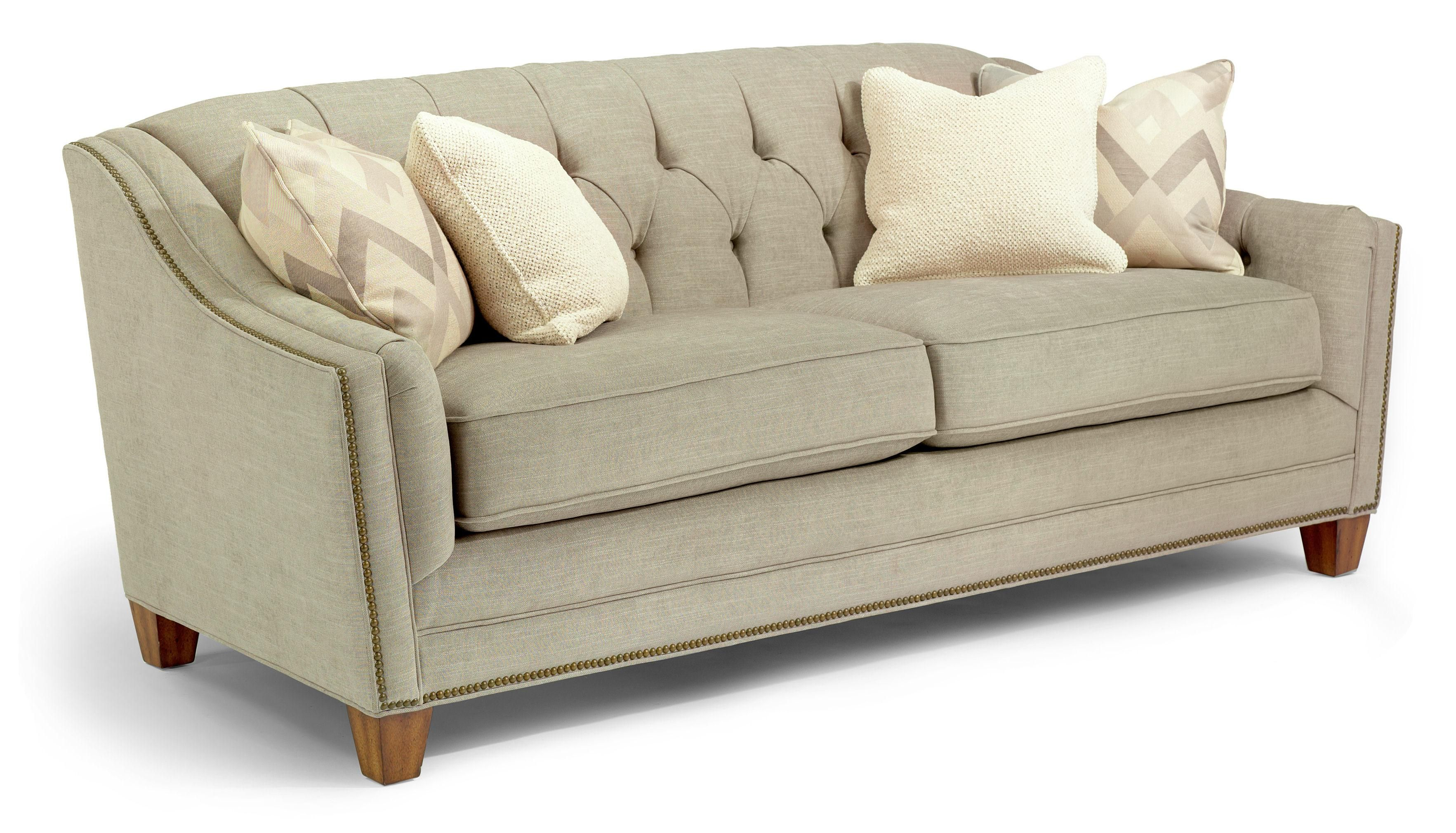 Dorea Sofa W Nails By Flexsteel This May Be The Best Yet Love