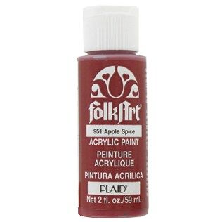 Apple Spice FolkArt Acrylic Paint | Hobby Lobby Wishlist | Painting