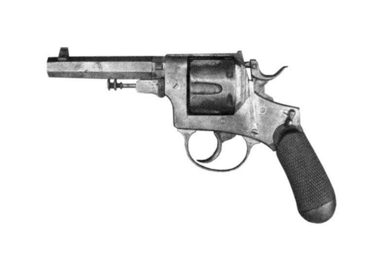 1891 Pistola a Rotazione Modello 1889 (Bodeo)