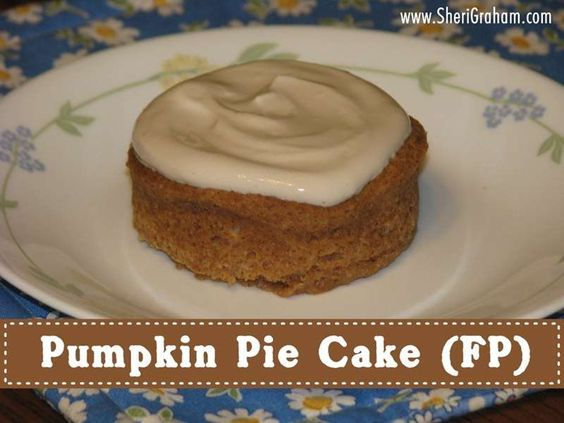 Pumpkin Pie Cake (FP) - This is a moist pumpkin cake that remains soft in the middle...making it taste like pumpkin pie in the middle!  Yummy!