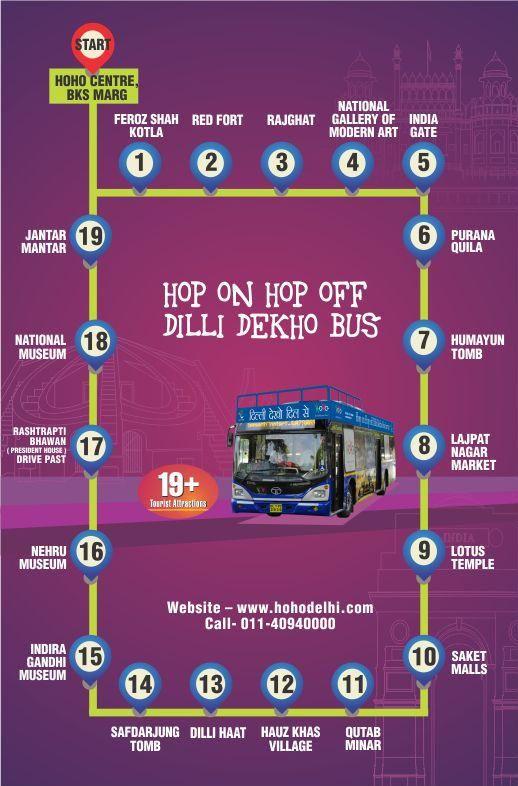 HOHO Delhi Bus - Official Sightseeing bus of Delhi ...