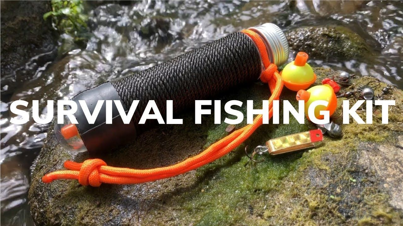 DIY Ultralight Pocket Fishing Kit, Stow It Anywhere